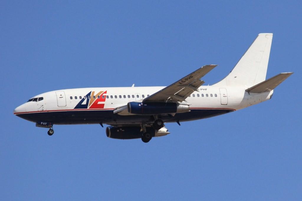 AVE flog 2010 noch ausschließlich mit Boeing 737-200. Dieses Exemplar wurde 1978 für Air New Zealand gebaut.