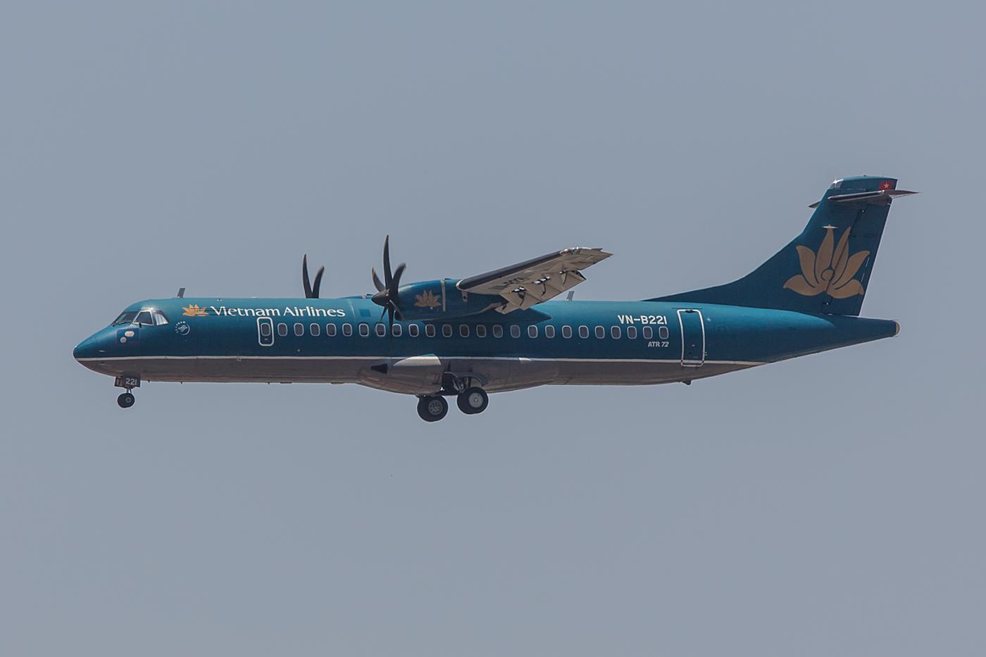 Für kurze Strecken nutzt Vietnam Airlines ATR72.