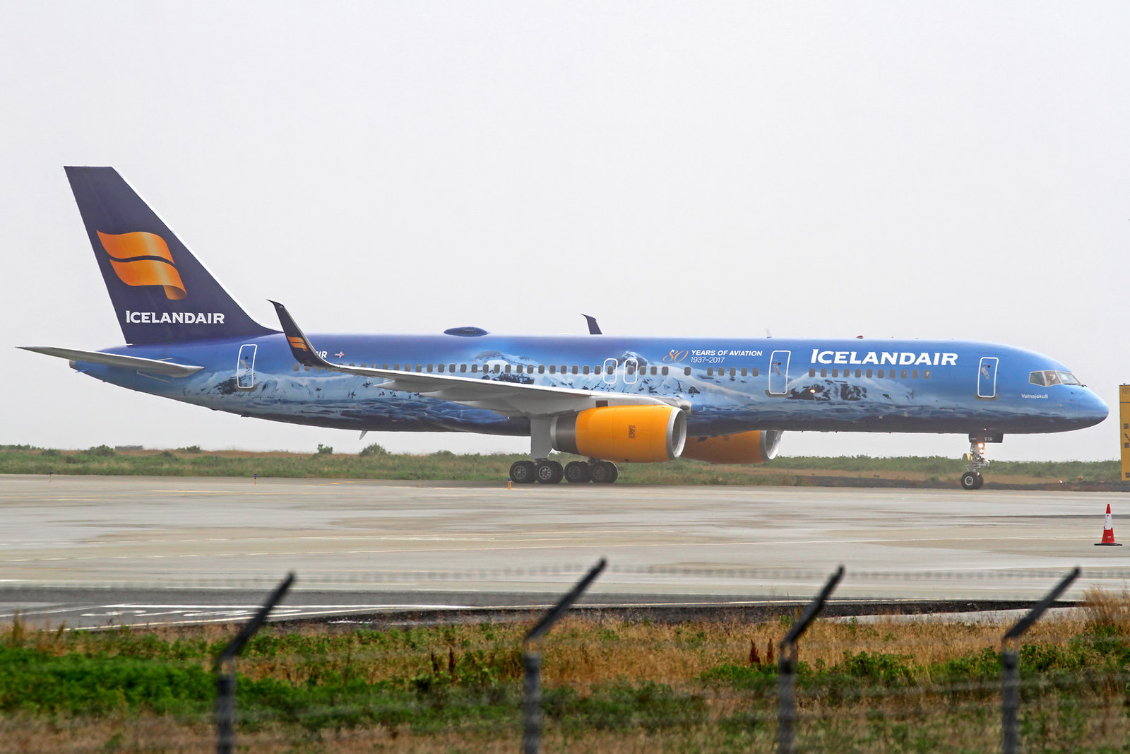 "Icelandair Boeing 757-256(ET) TF-FIR ""Vatnajoekull"", KEF, 15. August 2020"