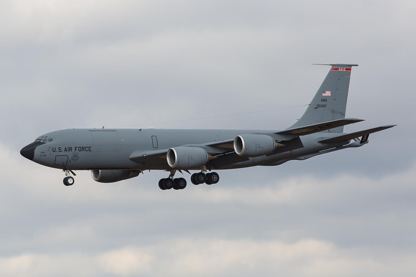 RMS 22.02.2015; KC-135R; 60-0347; 121st ARW Ohio ANG, Rickenbacker AFB