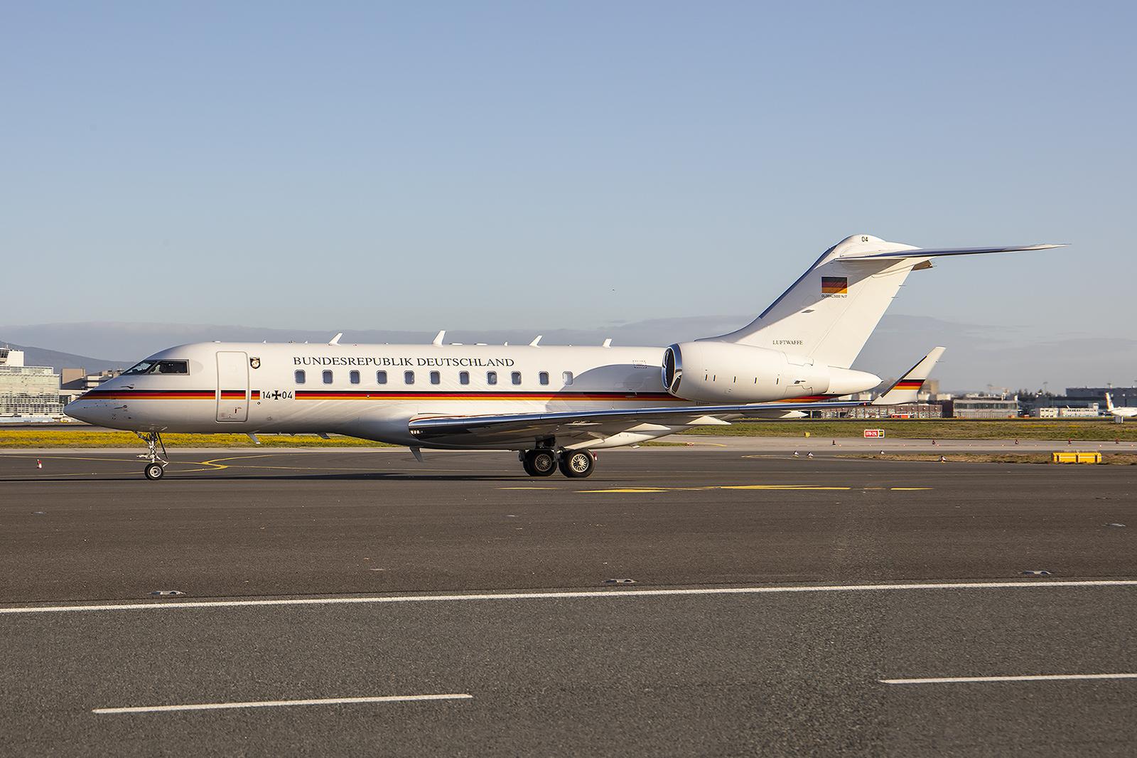 Einer der häufigen Regierungsflüge aus Berlin.