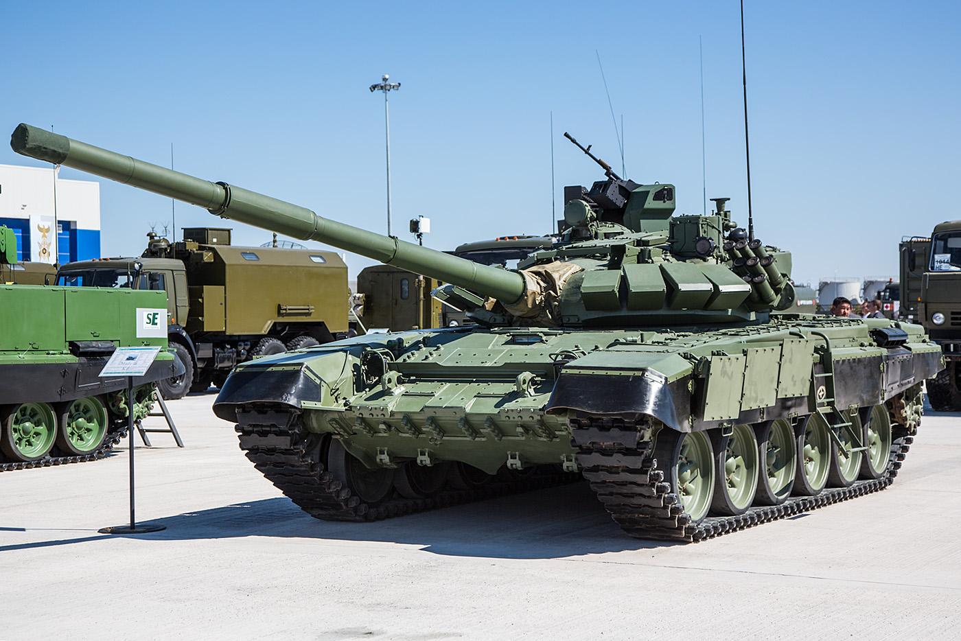Moderner Kampfpanzer auf Basis des T-72