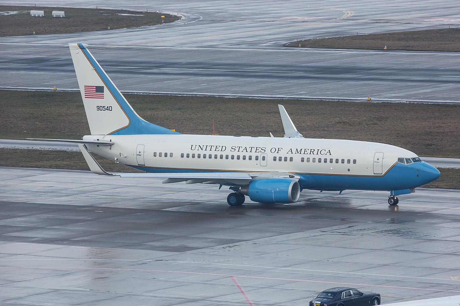09-0540; Boeing C-40B der 73rd AS von der Scott AFB, IL