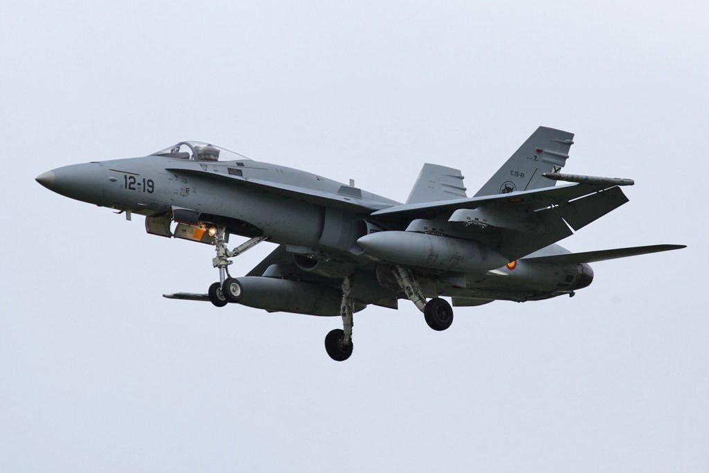 F/A-18A der Ala 12 aus Torrejon