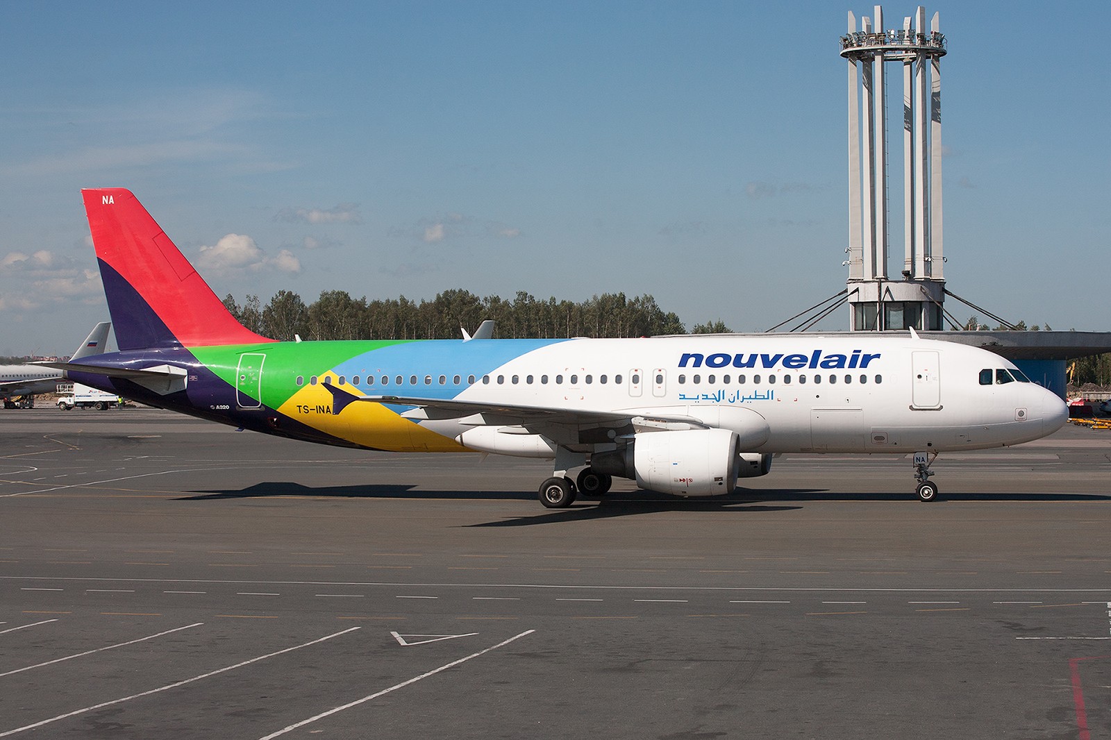 Nouvelair hatte diese A320 kurz zuvor aus Eritrea zurück bekommen.