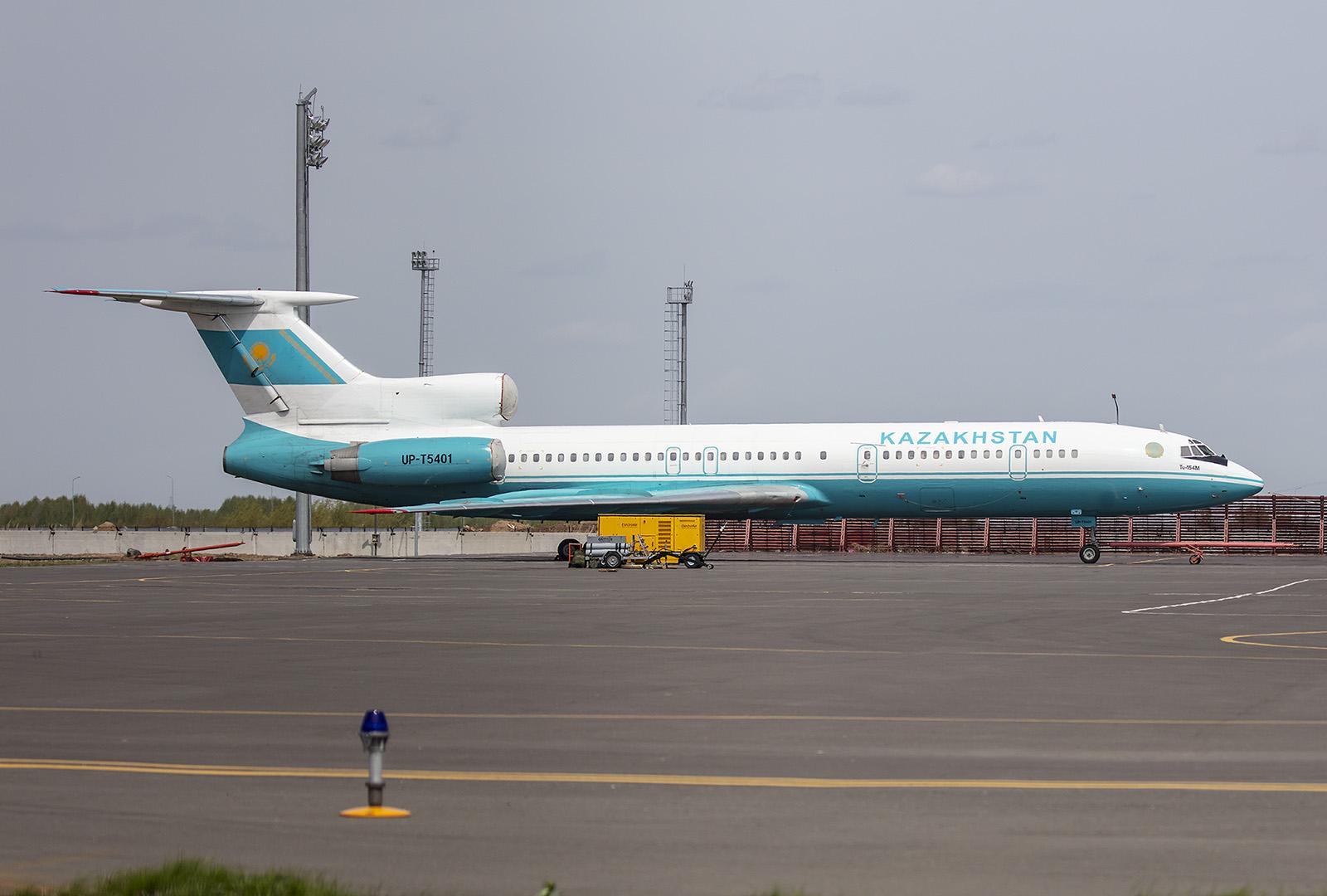 Schön eine aktive Tupulev Tu-154 zu sehen.