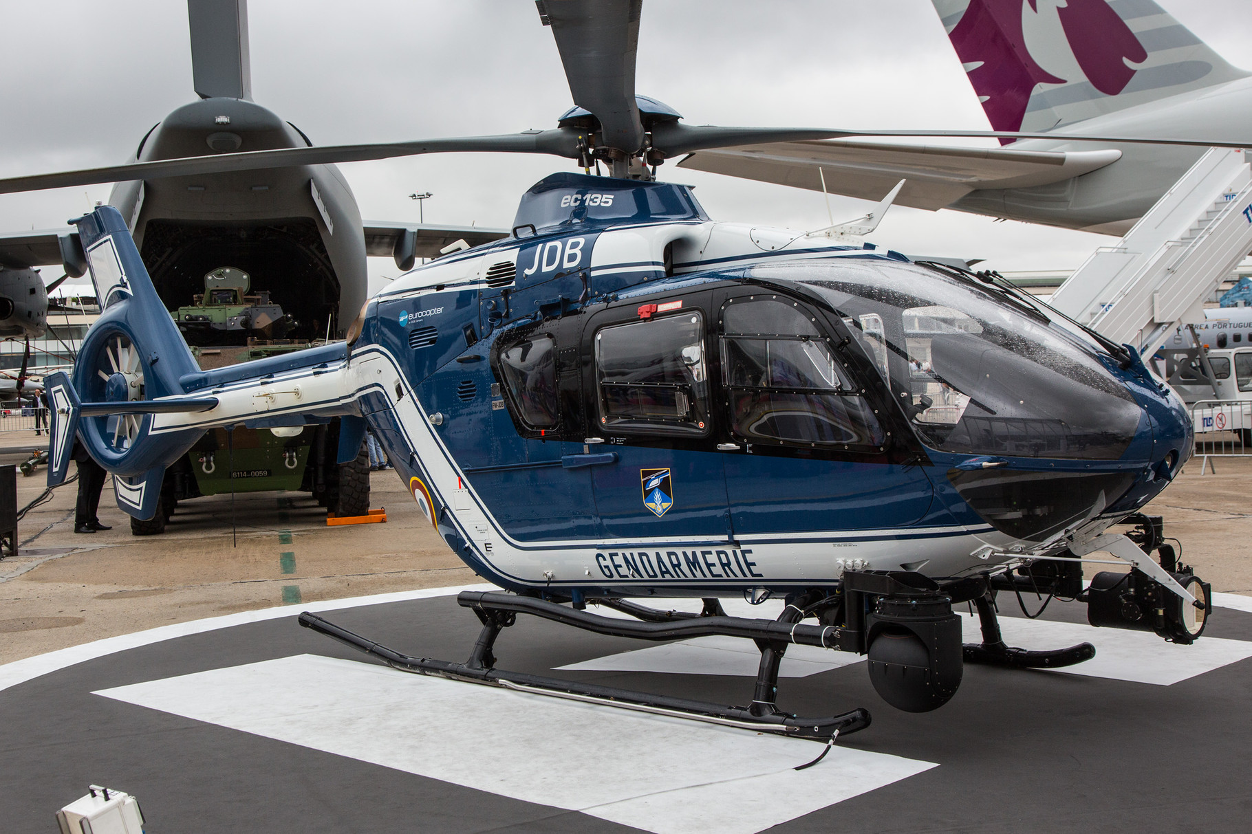 EC-135 der Gendarmerie.