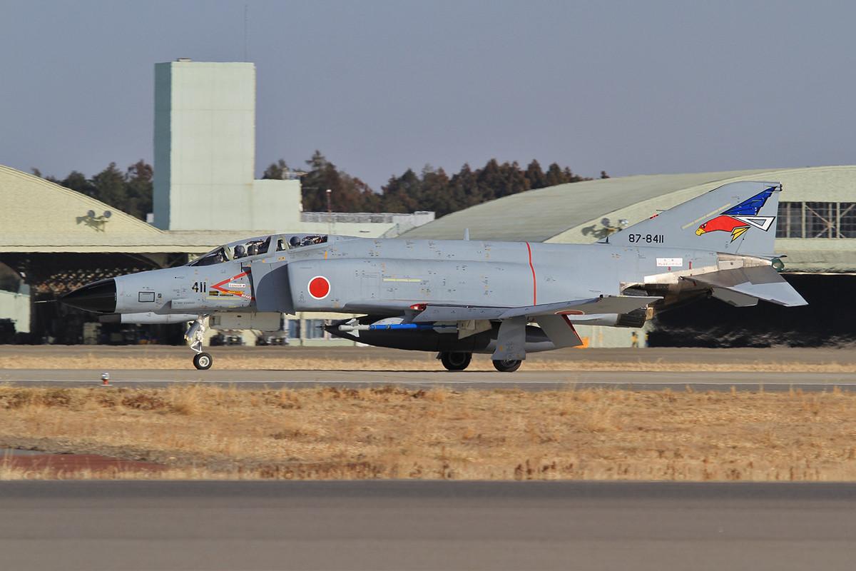 F-4EJ im Abendlicht.