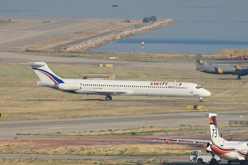 MD-83 der spanischen Swiftair.