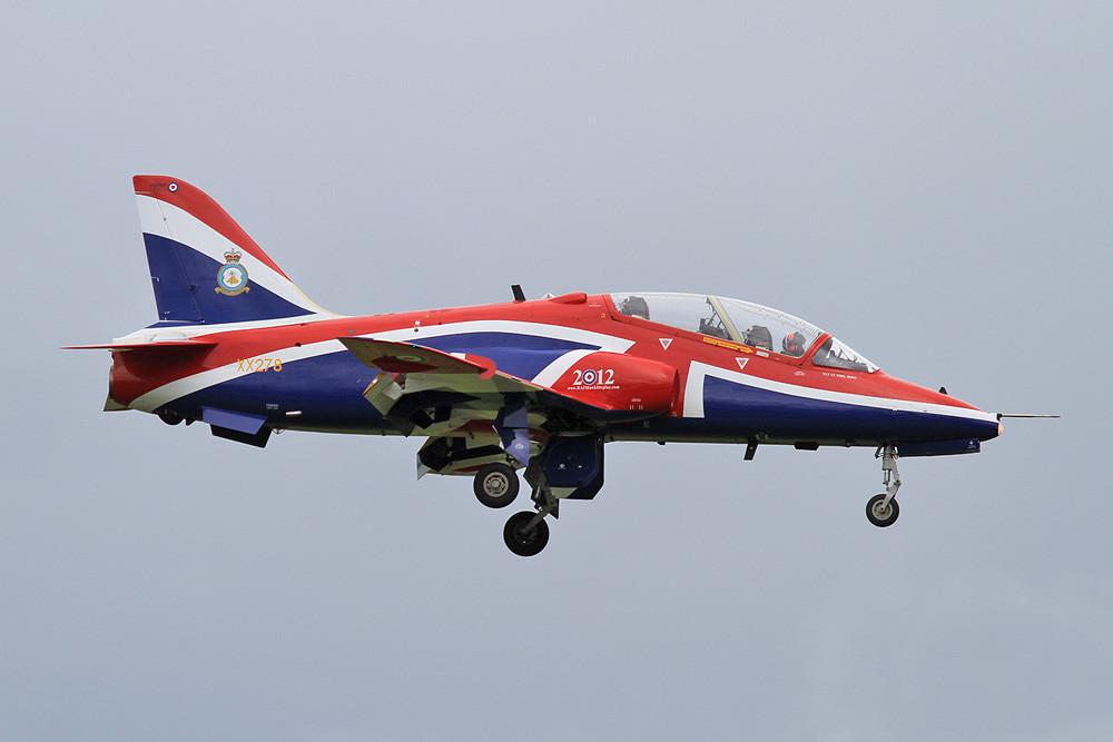 Der Solohawk aus RAF Valley.