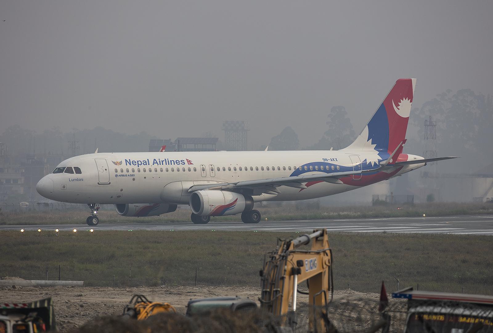 Mit den A 320 bedient Nepal Air Ziele in den umliegenden Ländern.