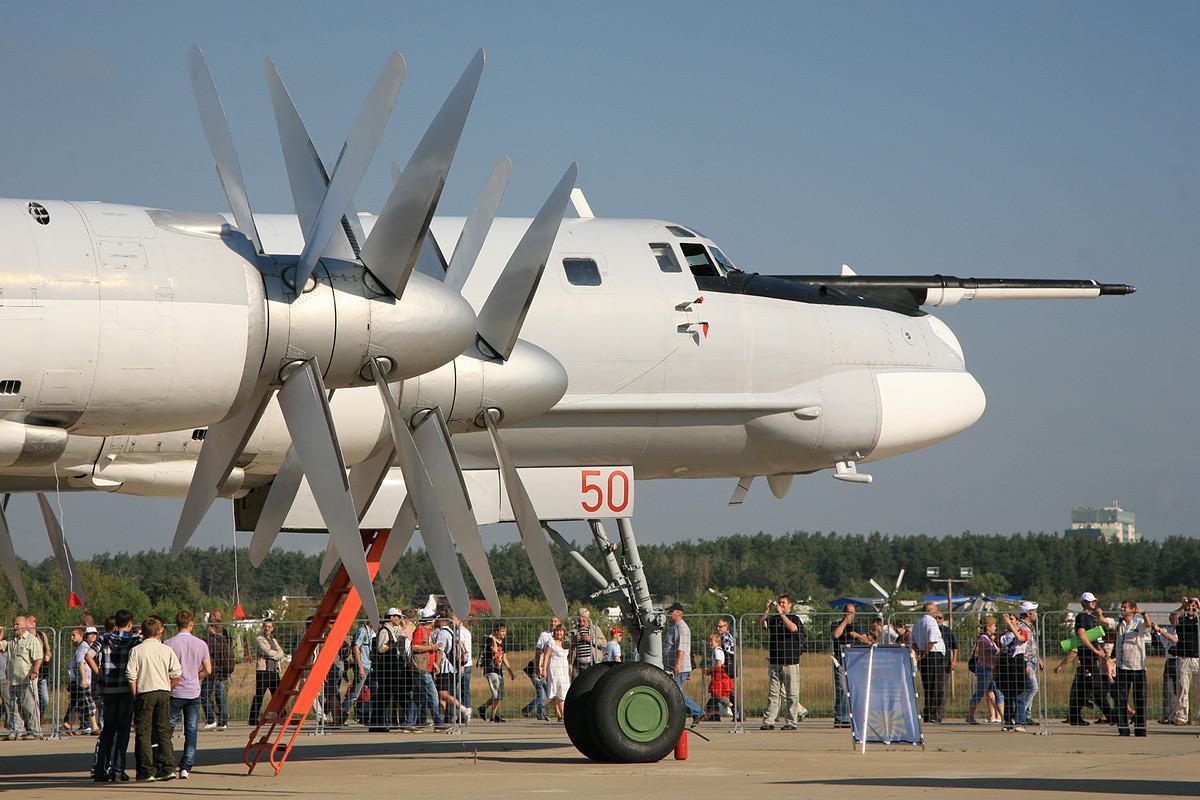 Die Tupolev TU-95 wirkt wie ein Relikt aus vergangenen Tagen.