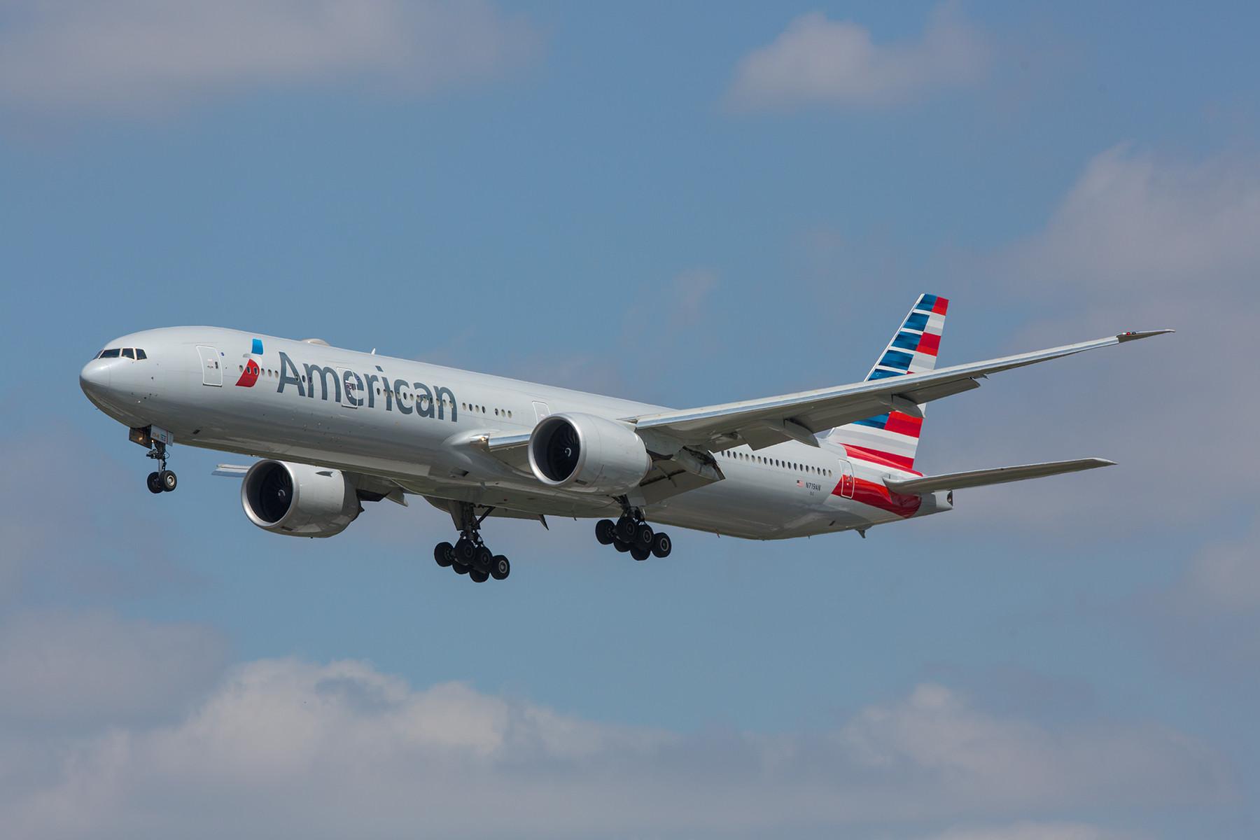 Die Boeing 777-300ER sind erst neu zu American Airlines gekommen und erw2eitern die Langstreckenflotte.