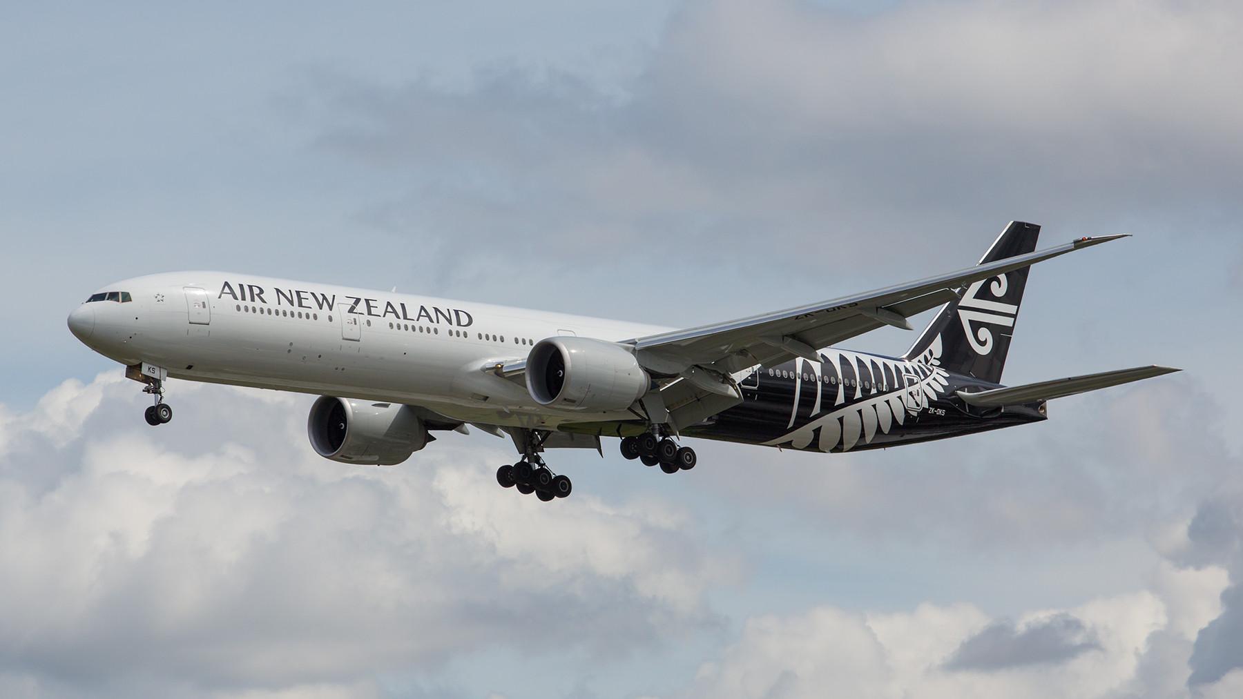 So sieht die neue Bemalung der Air New Zealand aus.