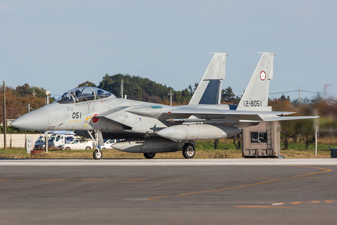 F-15DJ der 305 Hikotai beim Line-up.