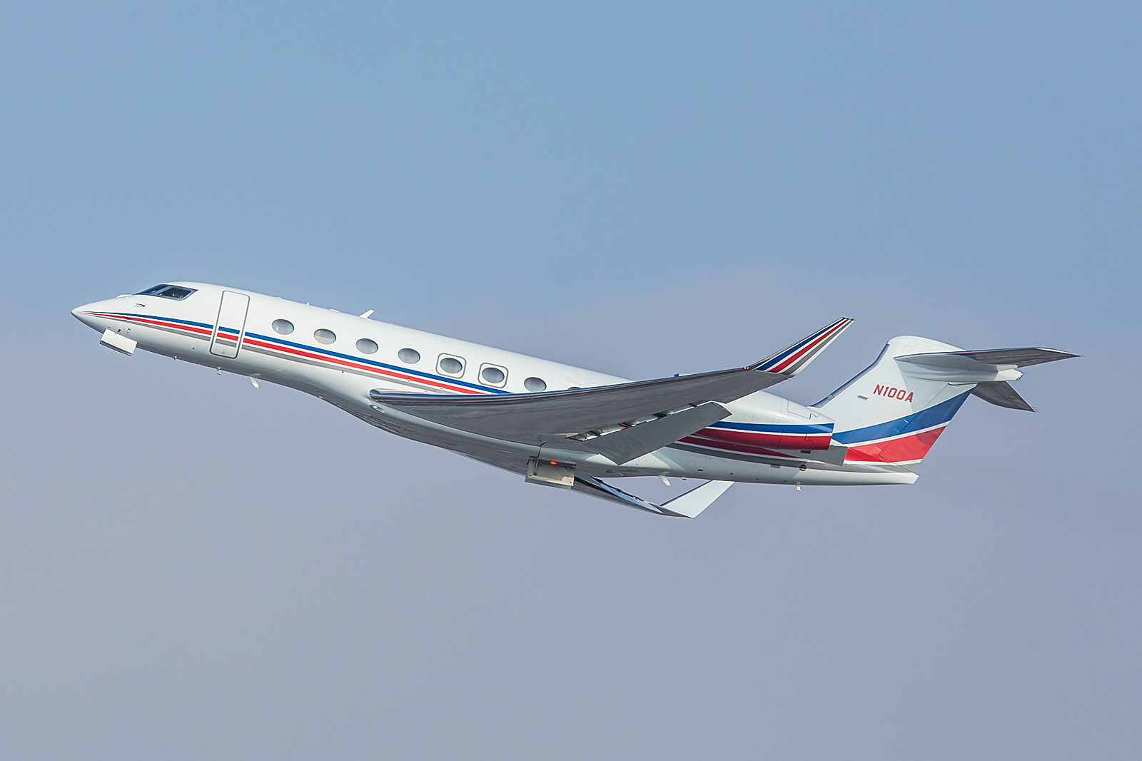 N100A; Exxon Mobile Gulfstream G650
