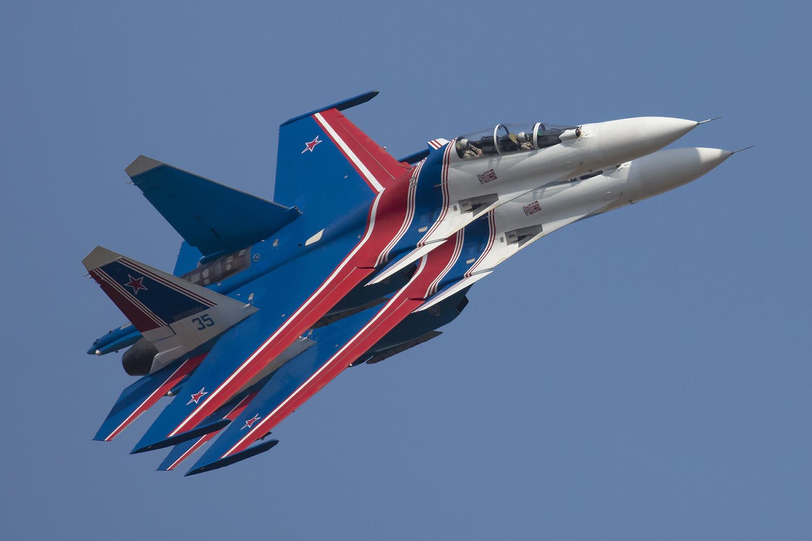 Zum Ende nochmal ein Bild des wohl schönsten Kampfflugzeugs auf der Show.