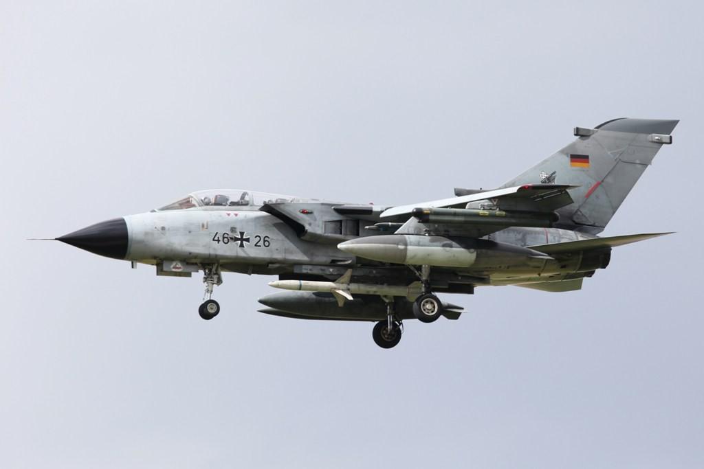 Tornado ECR vom Jagdbombergeschwader 32 aud Lagerlechfeld