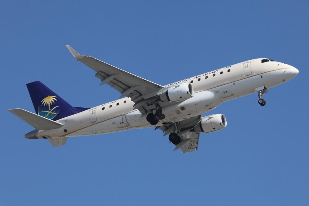 Embraer 170 der Saudi Arabian Airlines