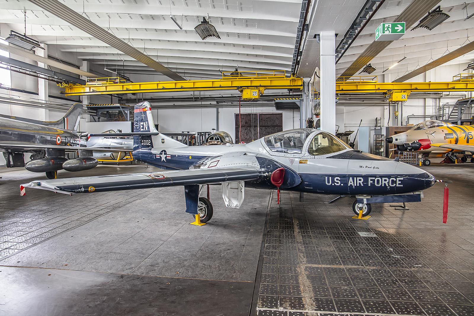 Wernigerode - Cessna T-37 Tweety, die auch in der Flugausbildung der Luftwaffe eingesetz wurde.