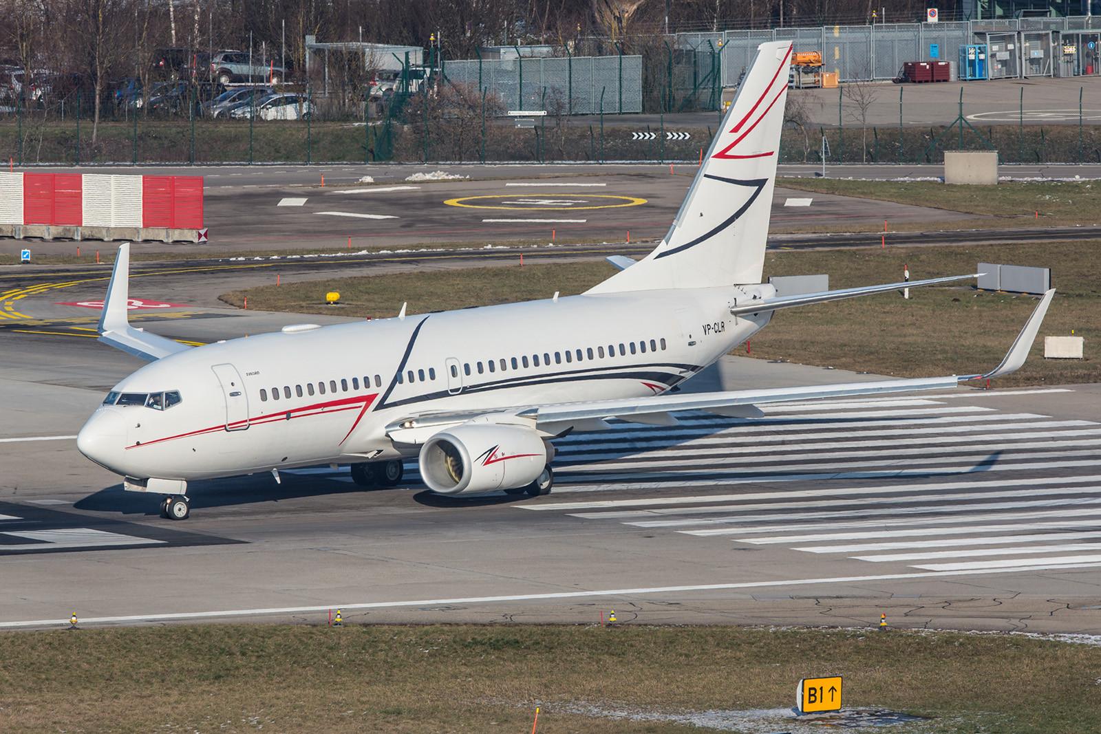 VP-CLR; Lukoil Boeing 737-7EB/W BBJ