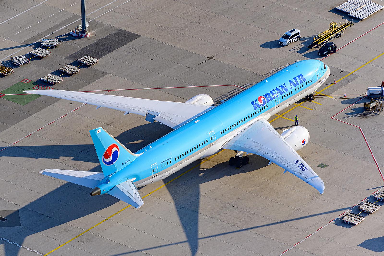 Korean schickte 2020 erstmals den Dreamliner nach Frankfurt