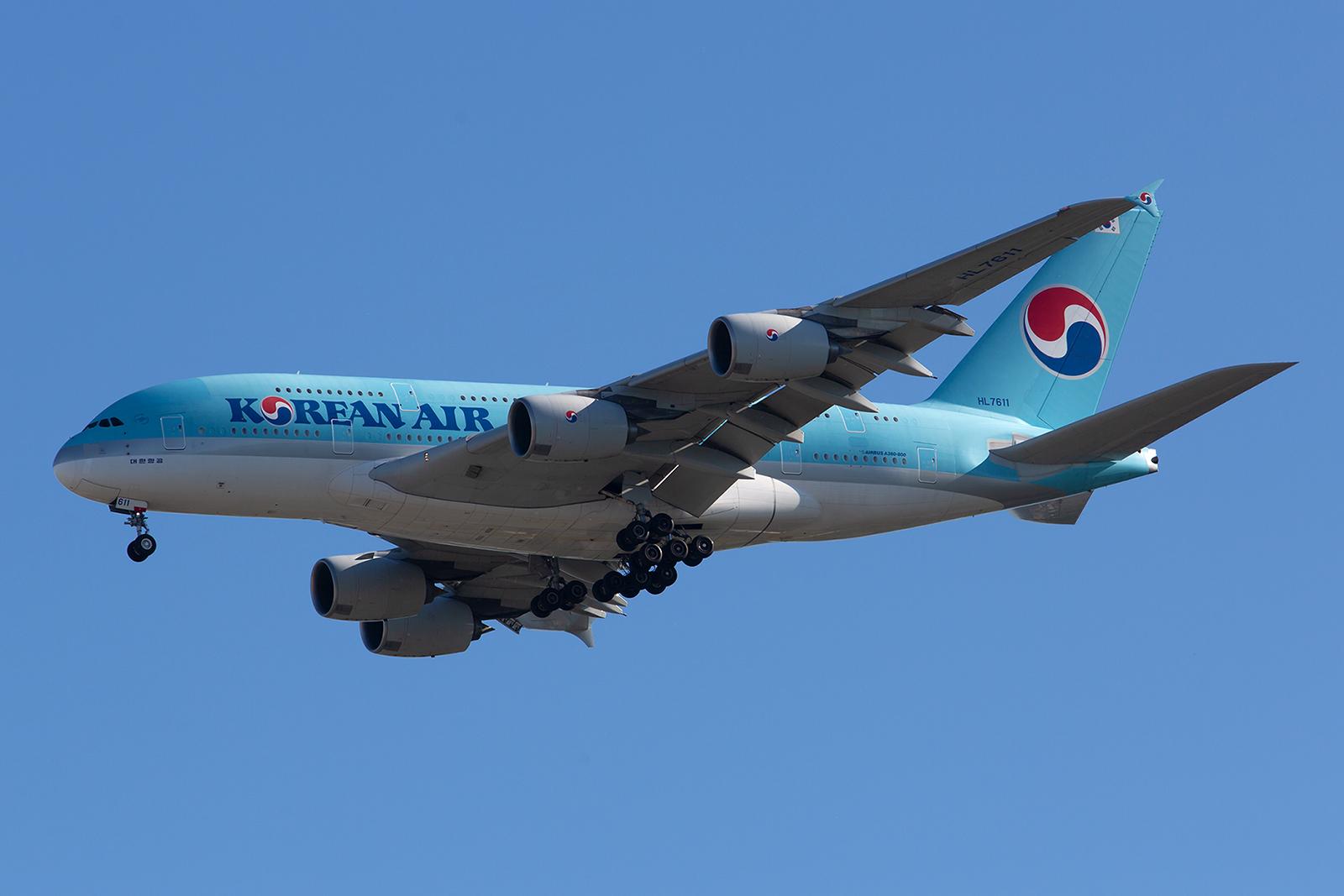 Die Mitgliedschaft in der Allianz um Air France/KLM veranlasste auch Korean Air Paris mit dem A 380 anzufliegen und diesen von der Frankfurtroute abzuziehen.