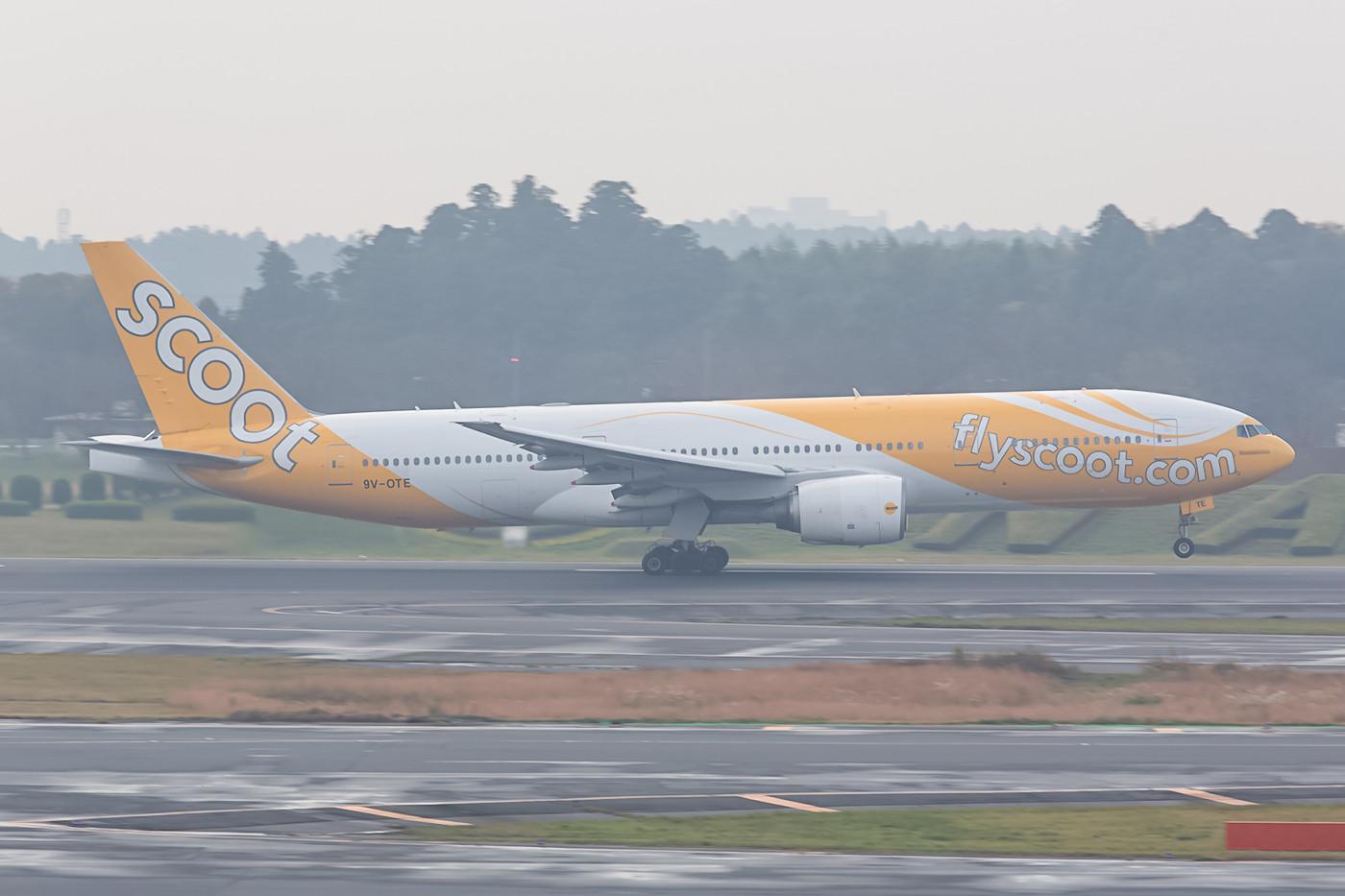 Demnächst werden bei Scoot sie Boeing 777 gegen Dreamliner ersetzt.