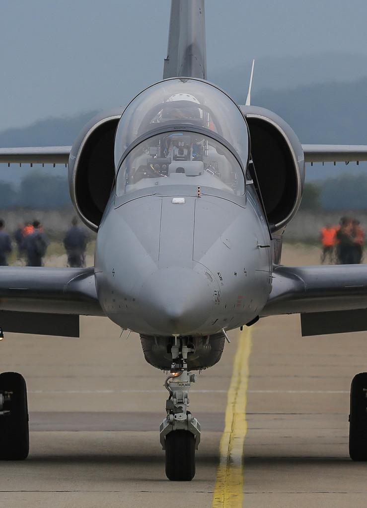 L-39 Albatros im neuen grau.