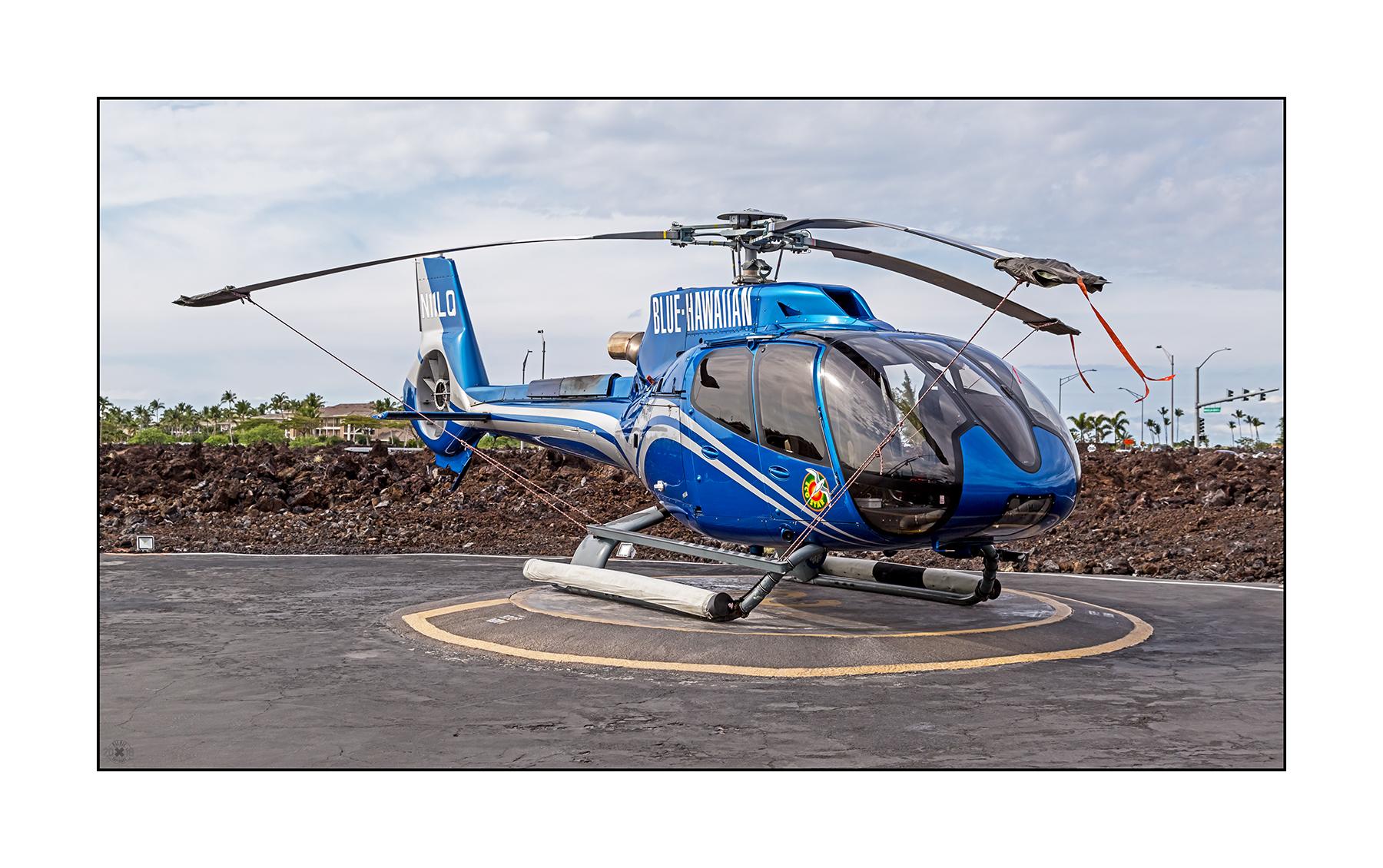 Helipad am Waikoloa Heliport Airbus EC130T2 Eco-Star N11LQ