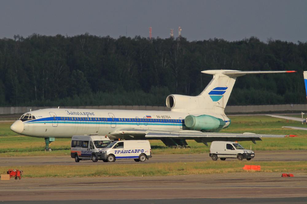 TU-154M von Zapolarje