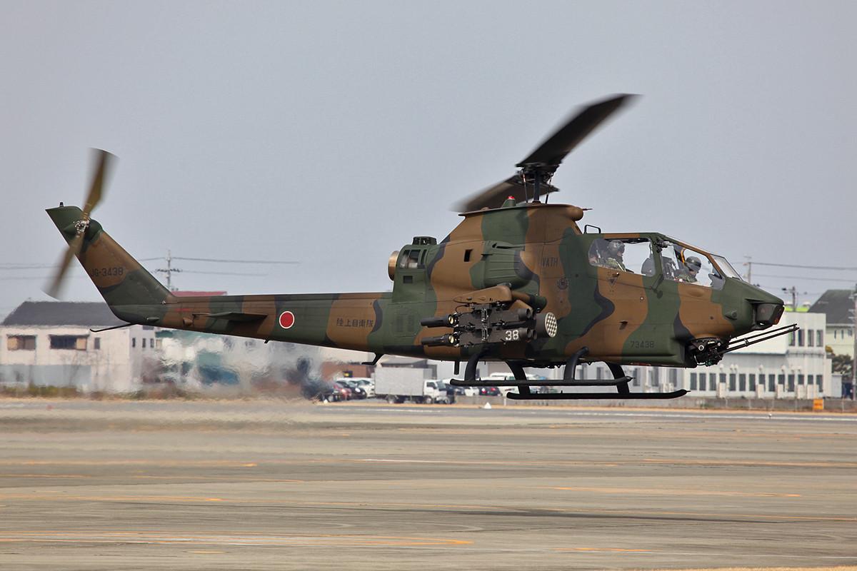 Immer noch schön die AH-1 Cobra.