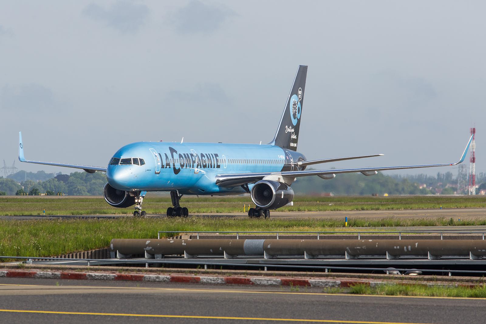La Compagnie fliegt zwischen Paris und New York mit zwei Boeing 757-200 in reiner Business Class Bestuhlung
