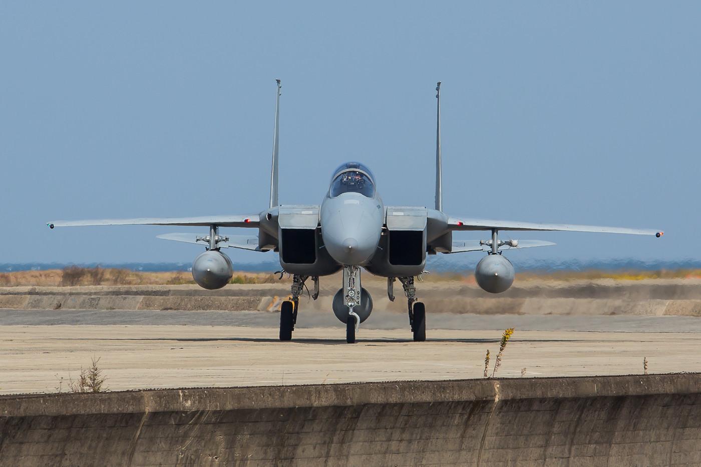 Die Maschinen dann in Okinawa zu bekommen wird um einiges schwerer werden.