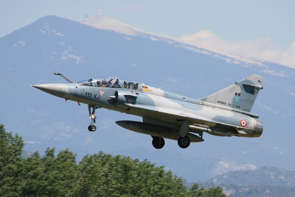 Orange ist die letzte Base in Frankreich, die noch Mirage 2000B hat.