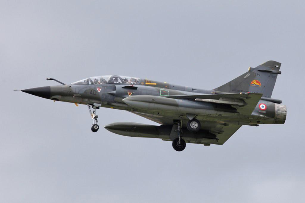 Mirage 2000N aus Luxeuil...