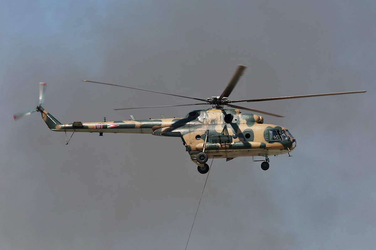 Mi-17 aus Szolnok