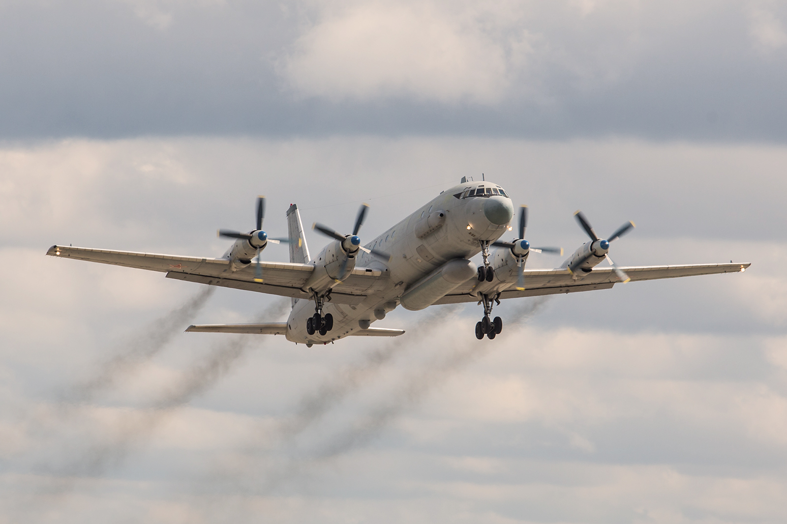 Start der Il-20, für mich das Highlight in Kubinka.
