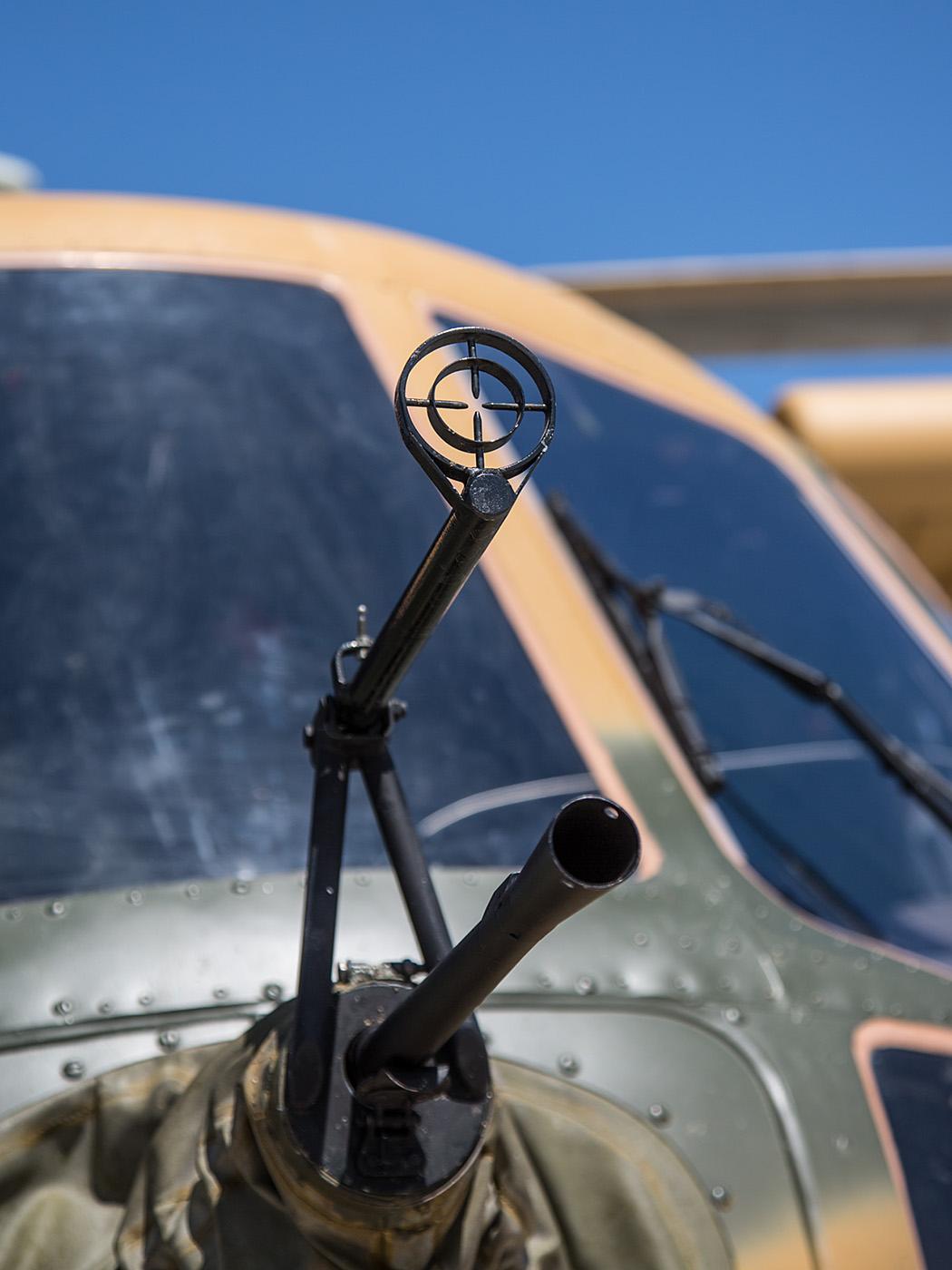 Das Bug-MG der Mi-8TB