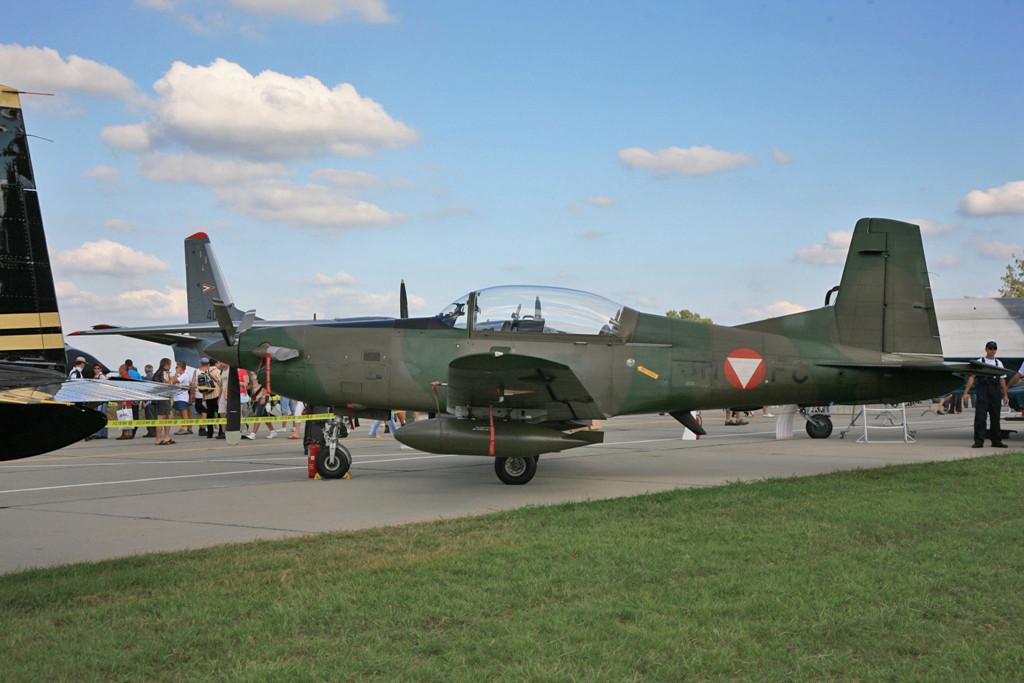 PC-7 der Österreichischen Luftwaffe.
