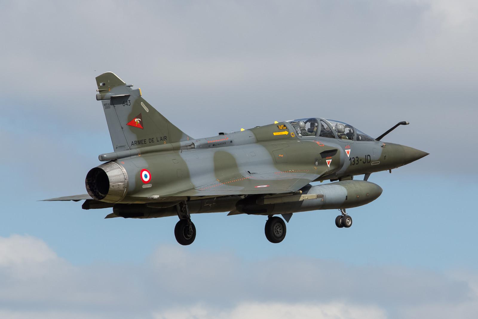 """643, Mirage 2000D der SPA 67 der EC 02.003 """"Champagne""""."""