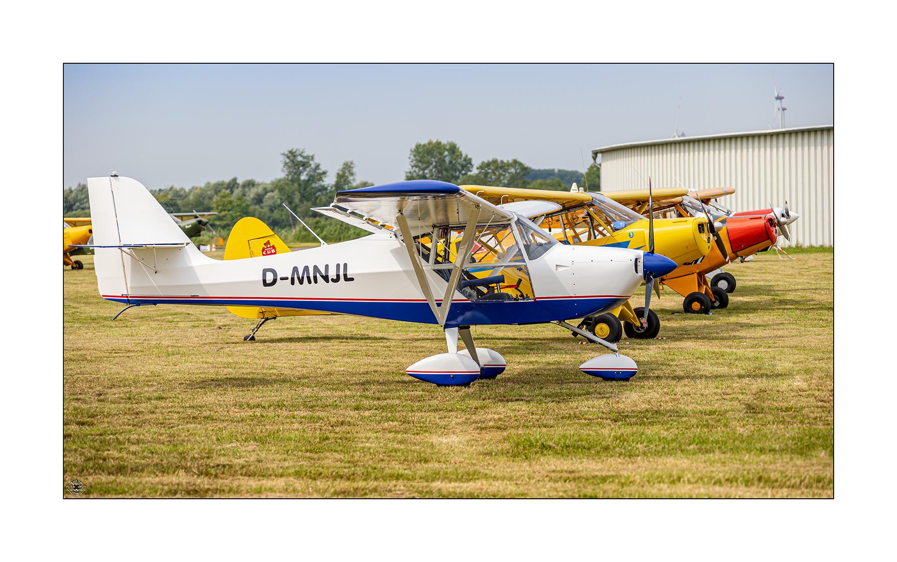 Aeropro Eurofox, ein Ultraleichtflugzeug.