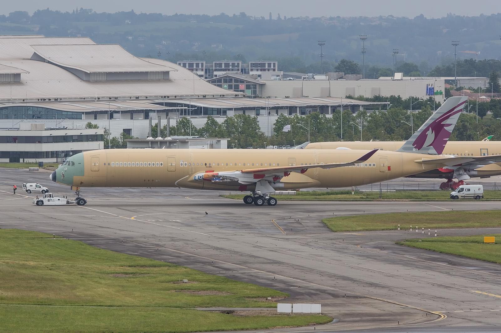 Die Baunummer 106 geht an Qatar Airways