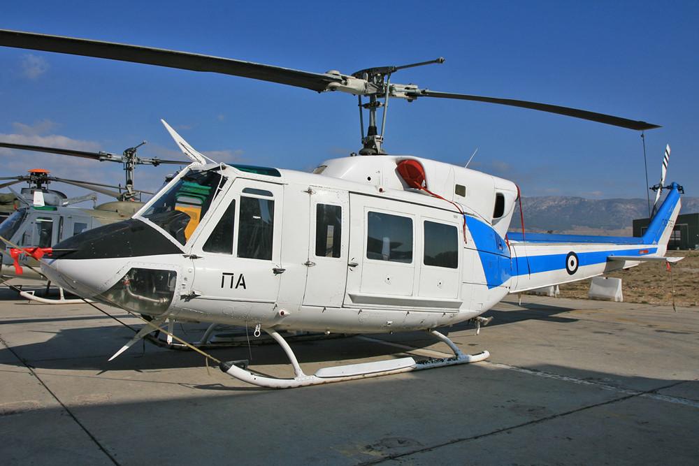 AB-212 für den VIP TRansport.