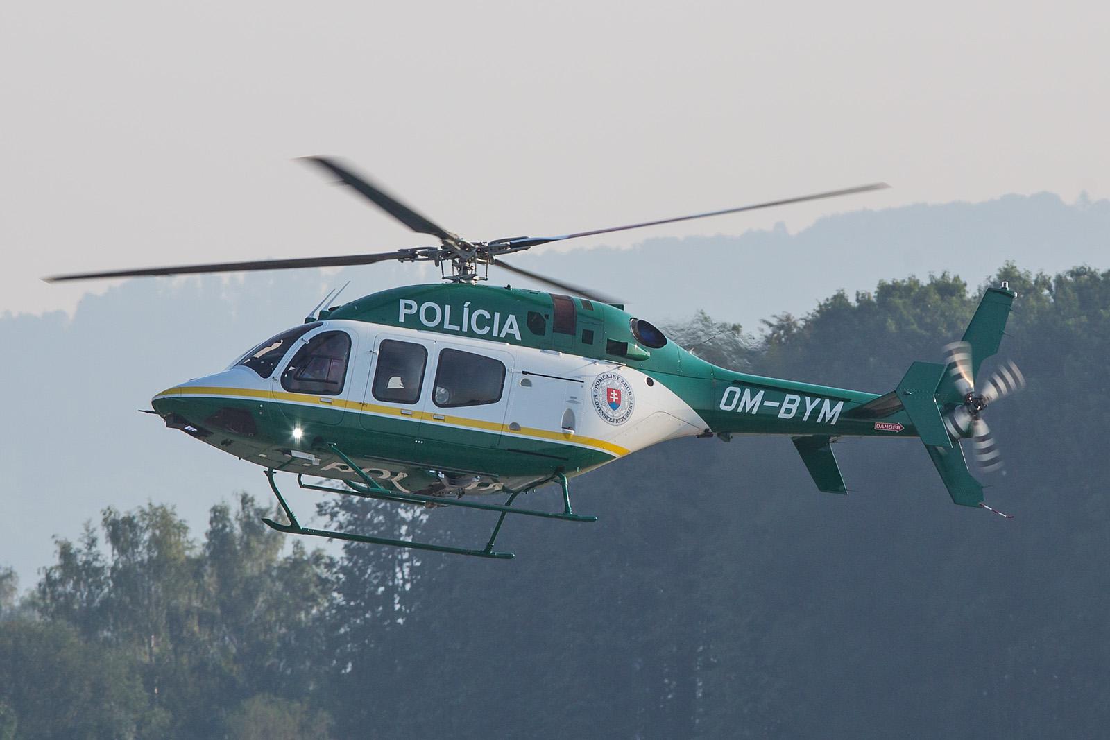 Erst seit kurzem verfügt die slovakische Polizei über die Bell 429