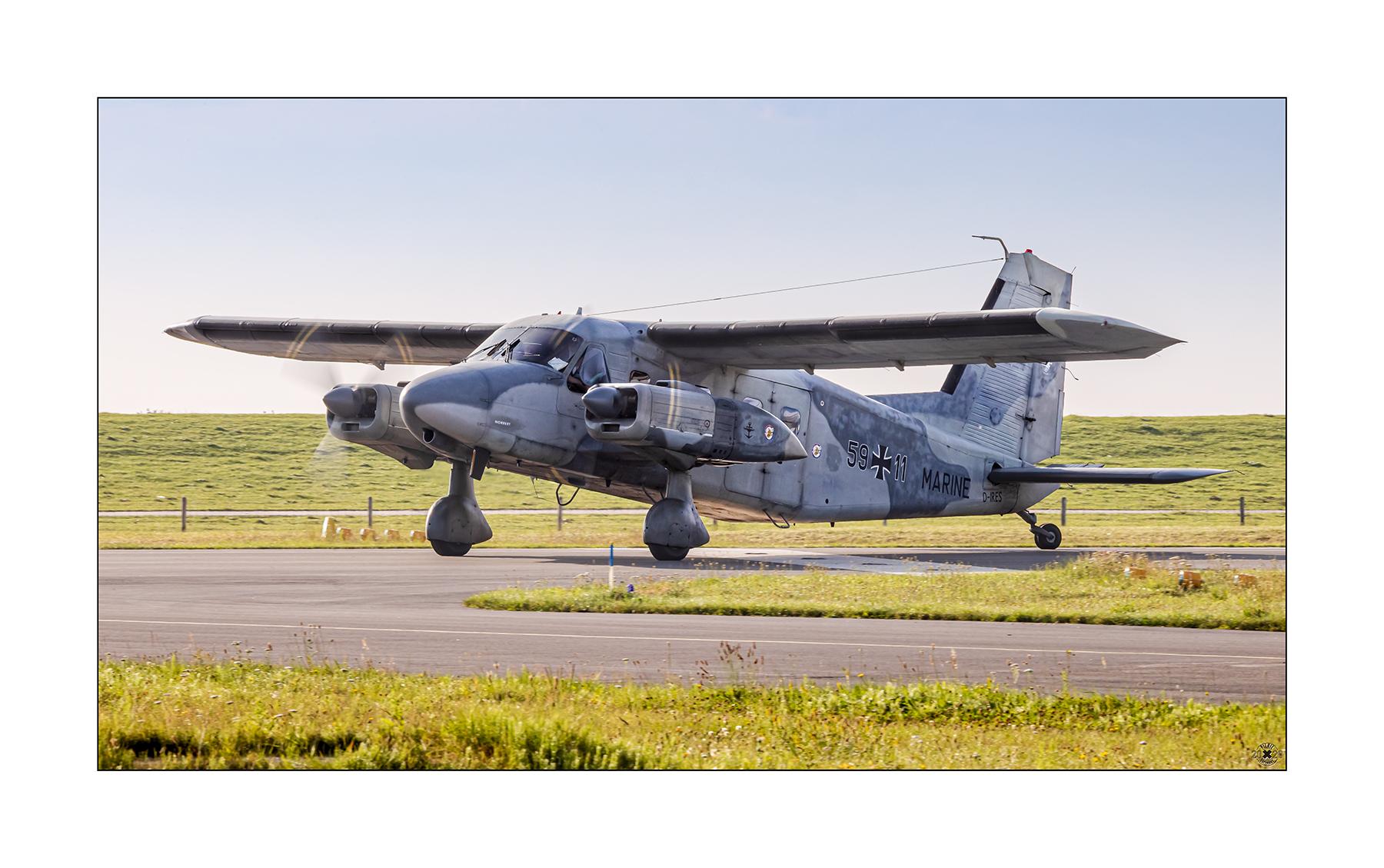 Dornier Do-28 der Reservisten aus Uetersen.