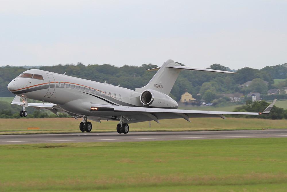 N726AF, GLEX von Vulcan Aircraft