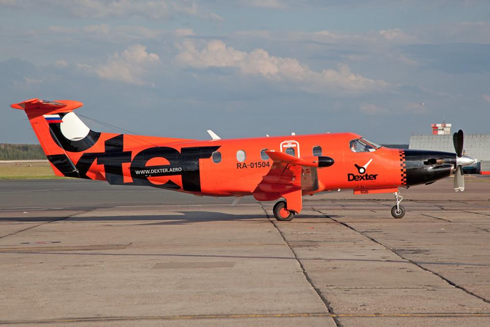 Mal was Modernes, Pilatus PC-12.