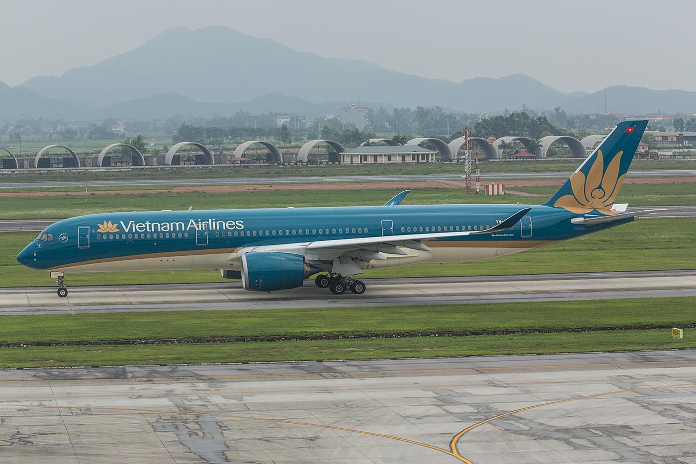 In Hanoi hatten wir etwas mehr Glück mit den A350.
