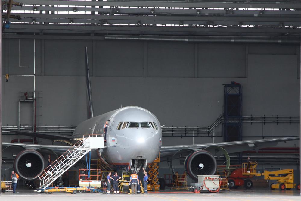 Aeroflot betreibt auch eine größere Anzahl an gebraucht erworbenen Boeing 767.